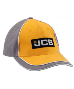 JCB Yellow Grey Cap