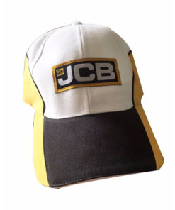 JCB Black Yellow Cap