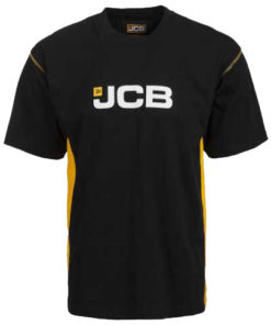 JCB Black Round Neck T-Shirt