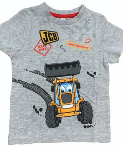 JCB Kids Round Neck Cotton T-Shirt